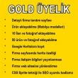 GOLD ÜYELİK KAMPANYASI