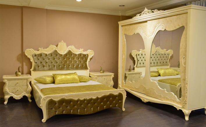 Mahir Klasik Yatak Odasi Takimi Kuzey Mobilya Ankara