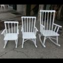 Çocuk ve Büyük Sallanan Sandalye Modelleri