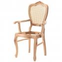 Klasik Hasırlı Kollu Sandalye