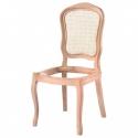 Papatya Hasırlı Sandalye