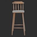 Cafe Bar Sandalyesi Ahşap