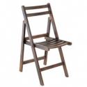 Ahşap Katlanır Kırmalı Sandalye