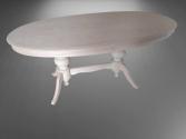 Oval Salon Masası
